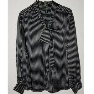Ralph Lauren 100% Silk Top Size 18W